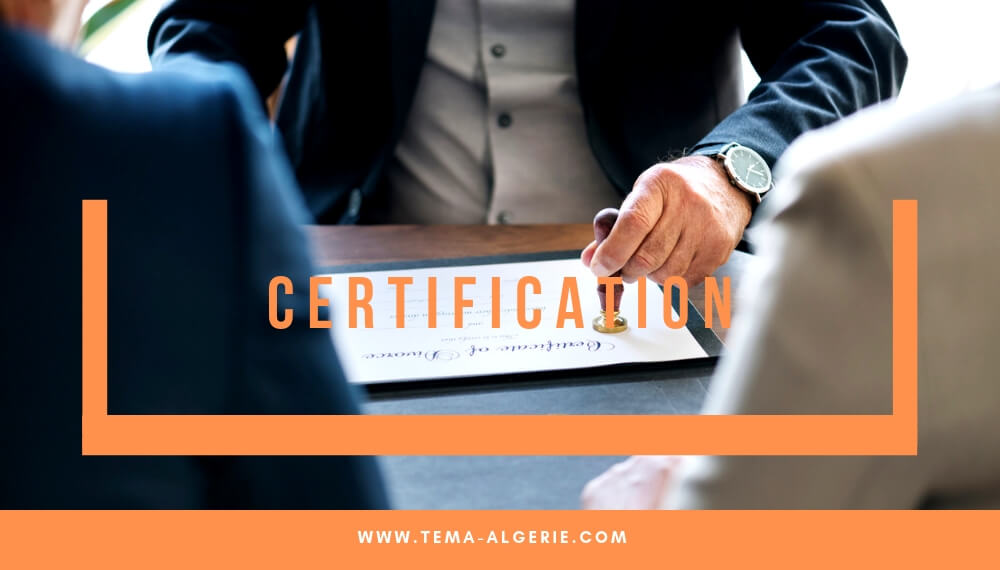 page formation – certification